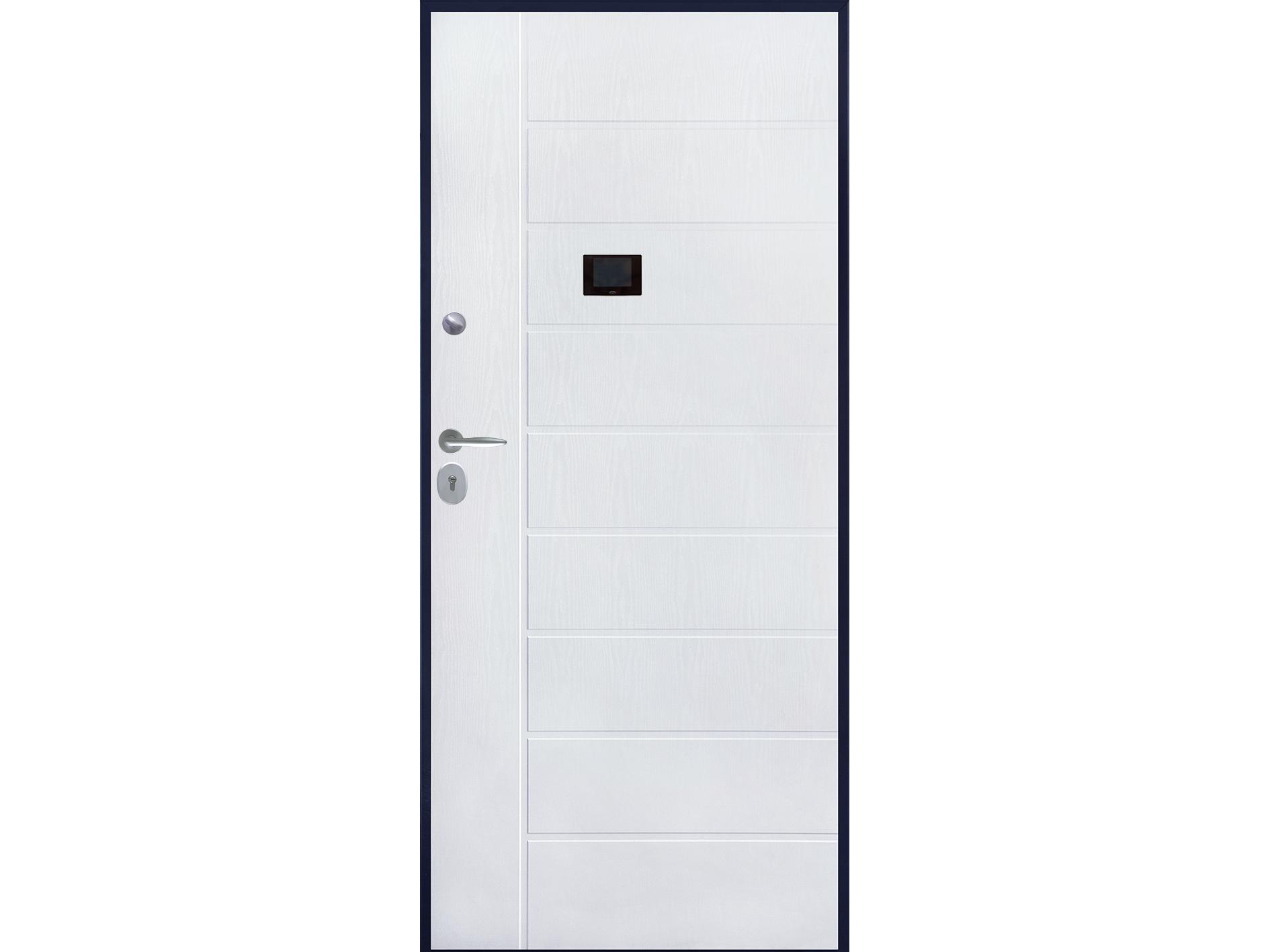 porta blindata pvc mdf bianca – Bunker Porte Blindate
